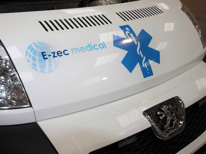 E-zec Medical Bariatric Ambulance